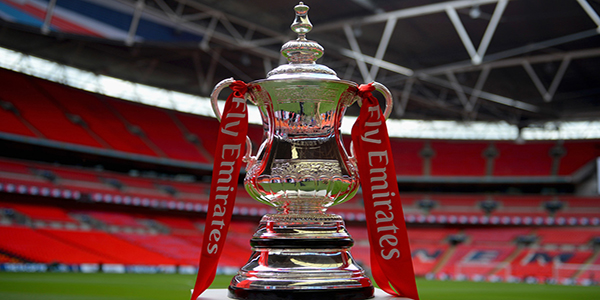 LONDON, ENGLAND - MAY 30: In this handout photo provided by The FA, the FA Cup is displayed following the announcement that Emirates will be lead partner and title sponsor for the next three years prior to the FA Cup Final between Aston Villa and Arsenal at Wembley Stadium on May 30, 2015 in London, England.  (Photo by Michael Regan - The FA/The FA via Getty Images)